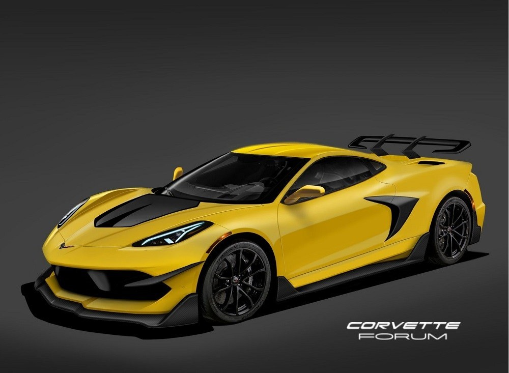 This C8 Corvette Zr1 Rendering Looks Accurate News