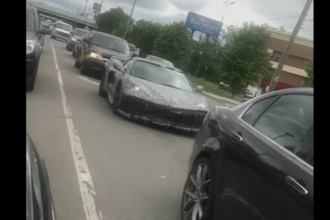 C8 Corvette sighting