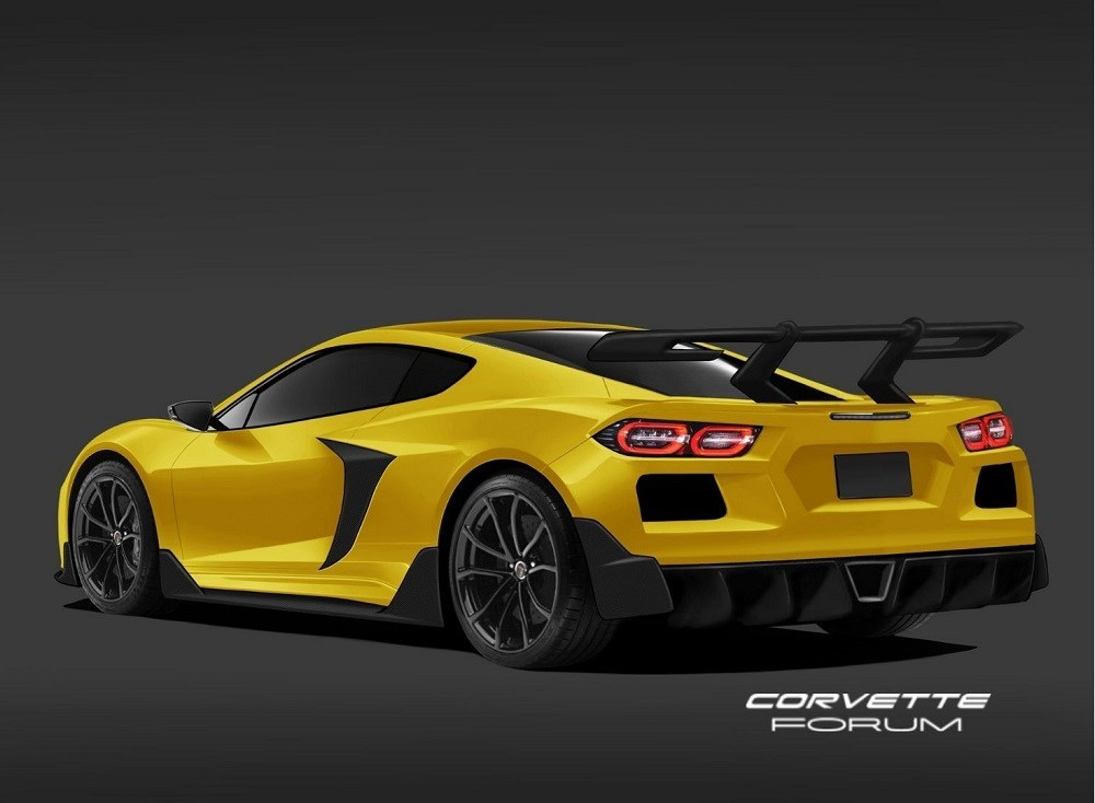 this c8 corvette zr1 rendering looks accurate