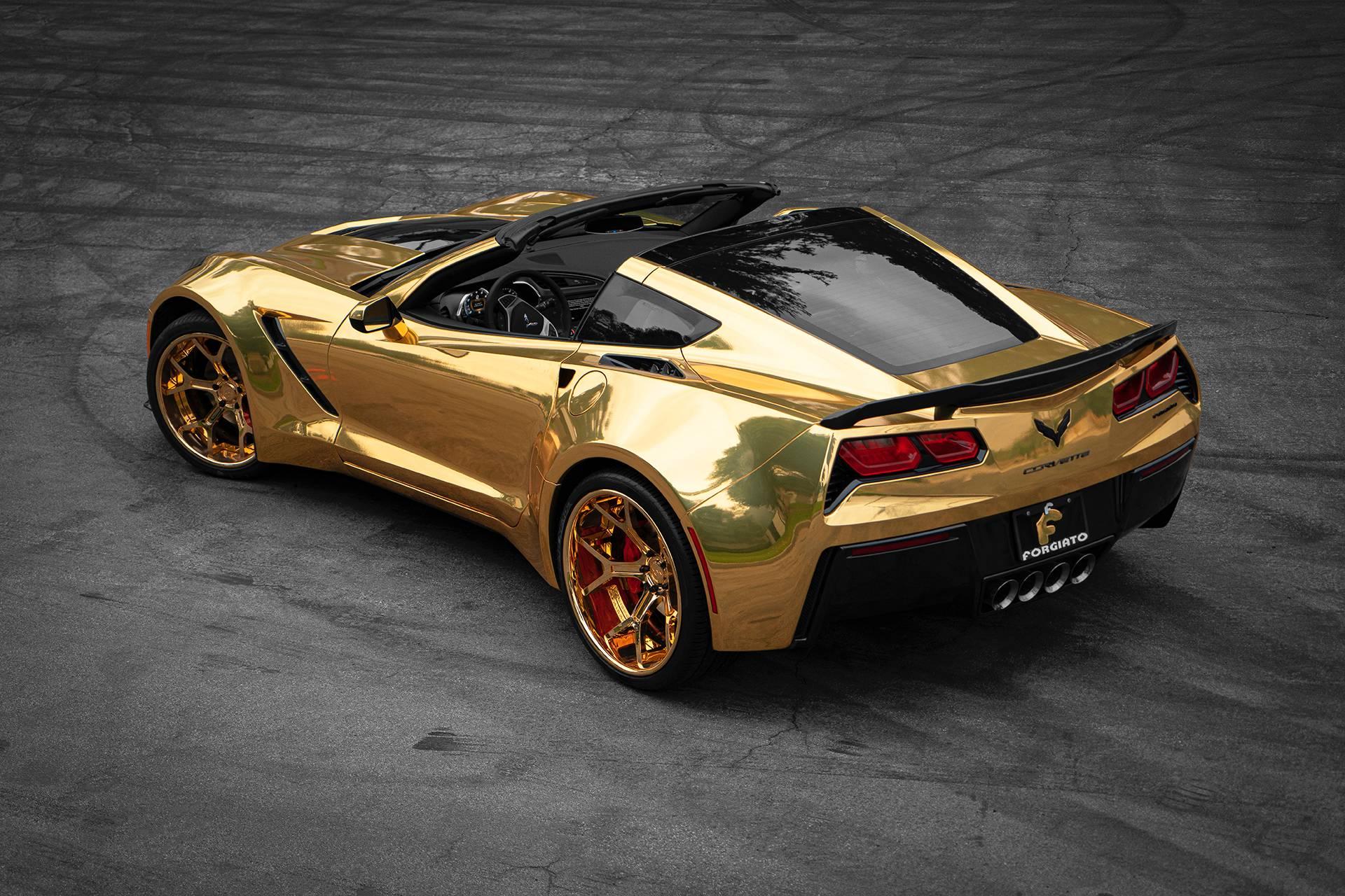 C7 Corvette Gold
