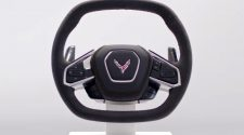 C8 Corvette steering wheel