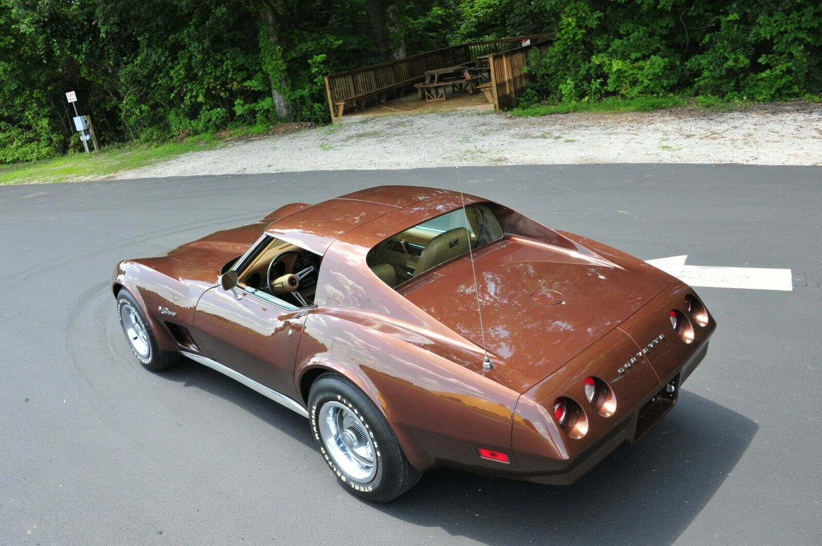 This one-owner 1974 Corvette is currently being auctioned by the NCM to raise money for future exhibits at the Museum!