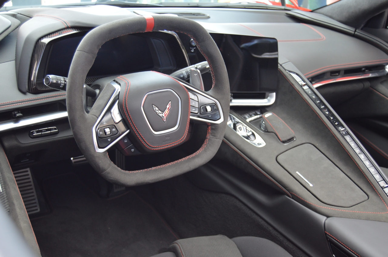 2020 Mid-Engine Corvette cockpit