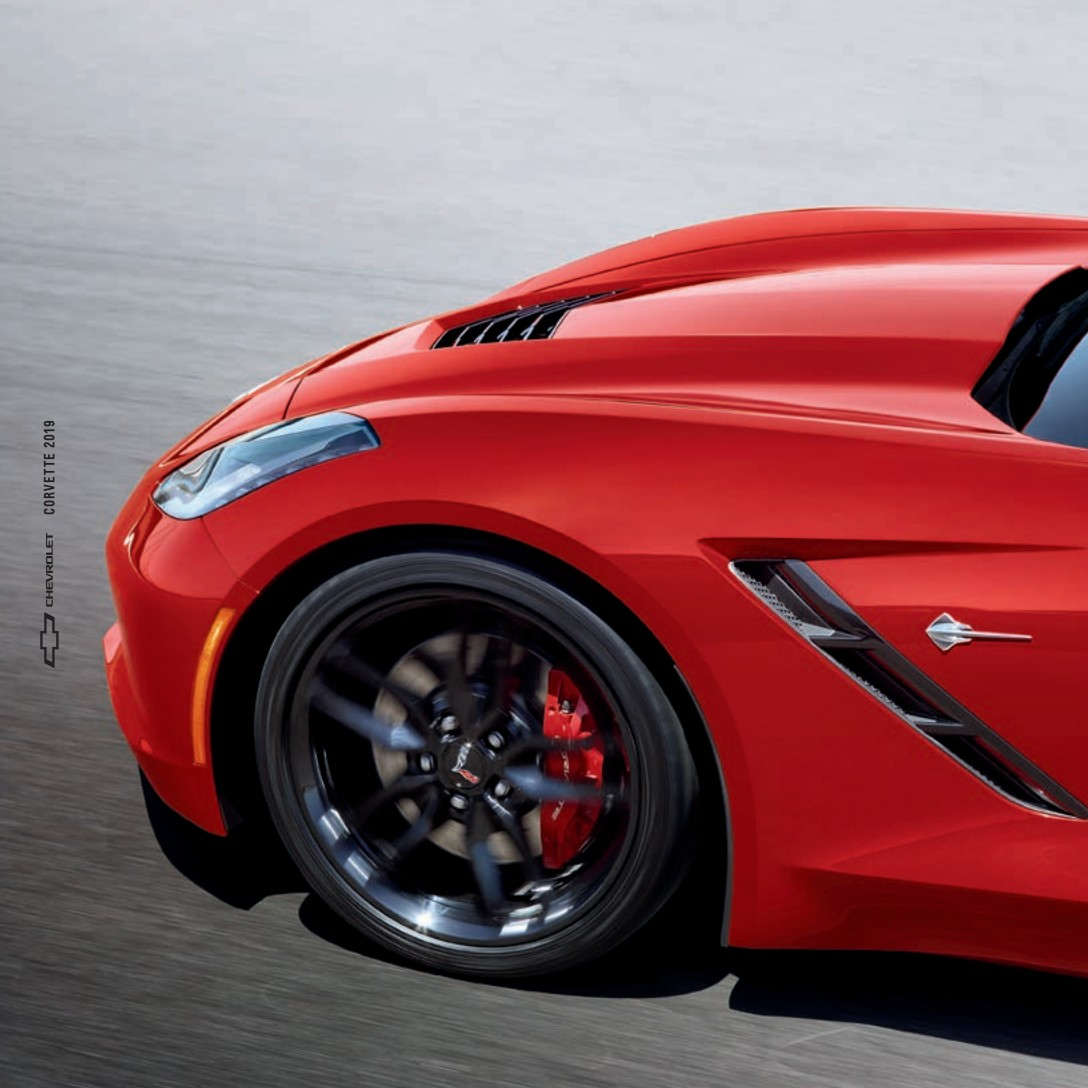 2019 Corvette Sales Brochure