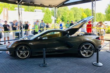 2020 Corvette C8 at Road America