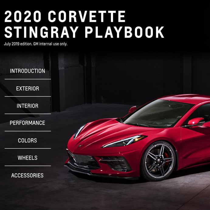 2020 Corvette Dealer Playbook