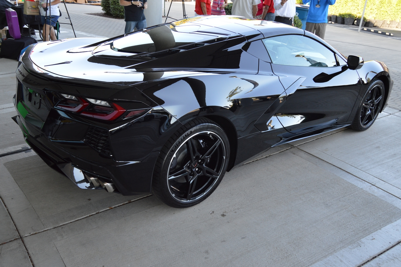 One of several mid-engine Corvettes that made an appearance at the NCM's 25th Anniversary celebration.