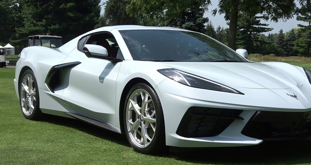 Two 2020 Corvettes Showed Up at the Concours d'Elegance of ...