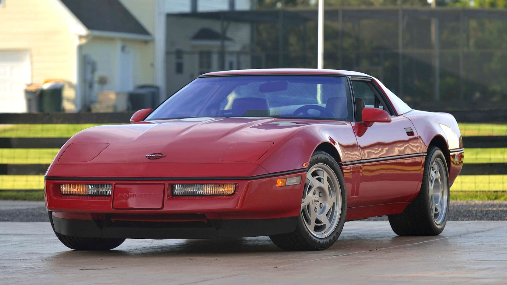 A 1991 Corvette ZR-1 Coupe
