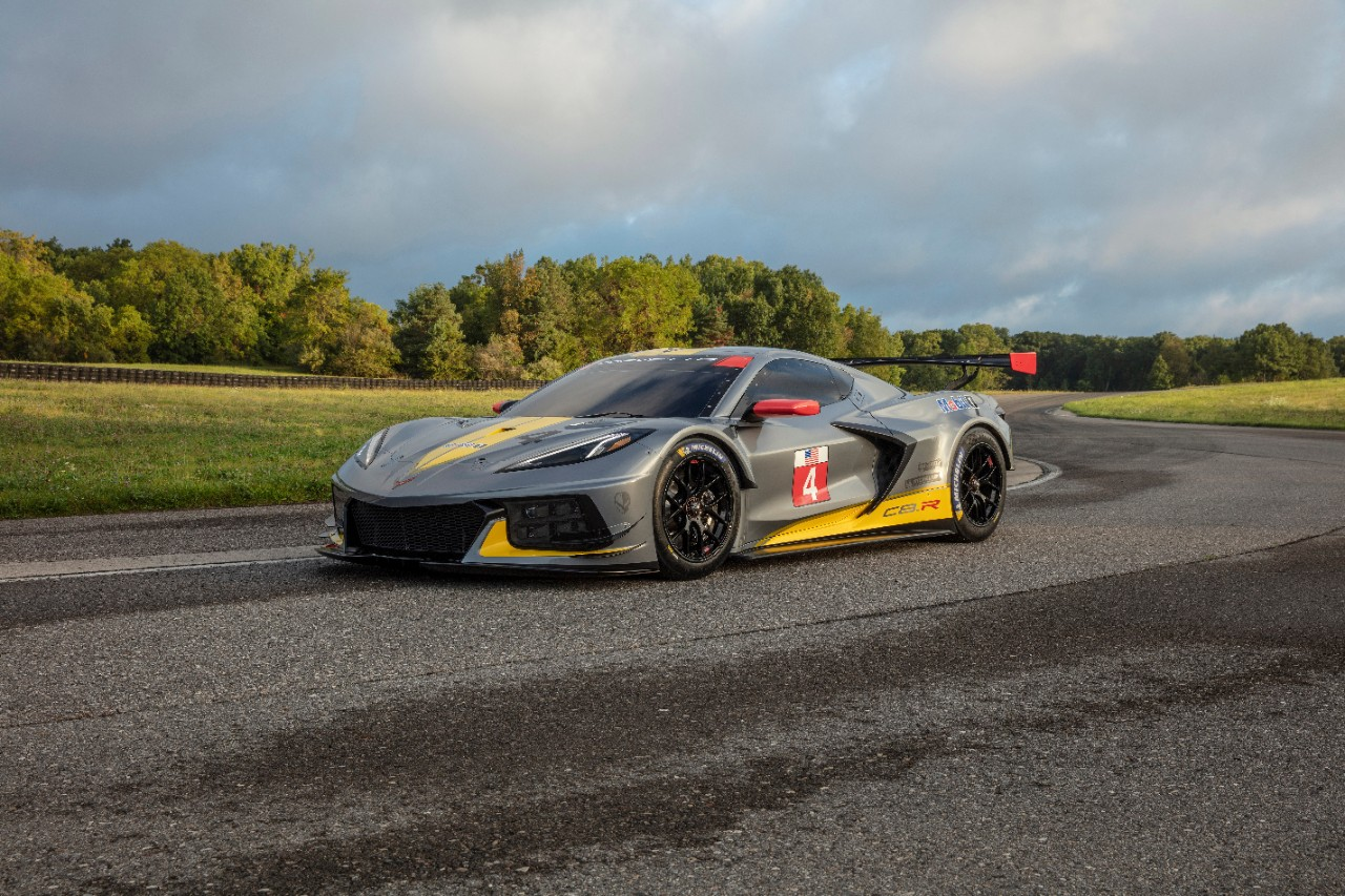 Chevrolet begins a new chapter in its storied racing legacy with the introduction of the new mid-engine Corvette race car, known as the C8.R.