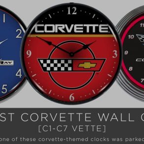 Best Corvette Wall Clocks