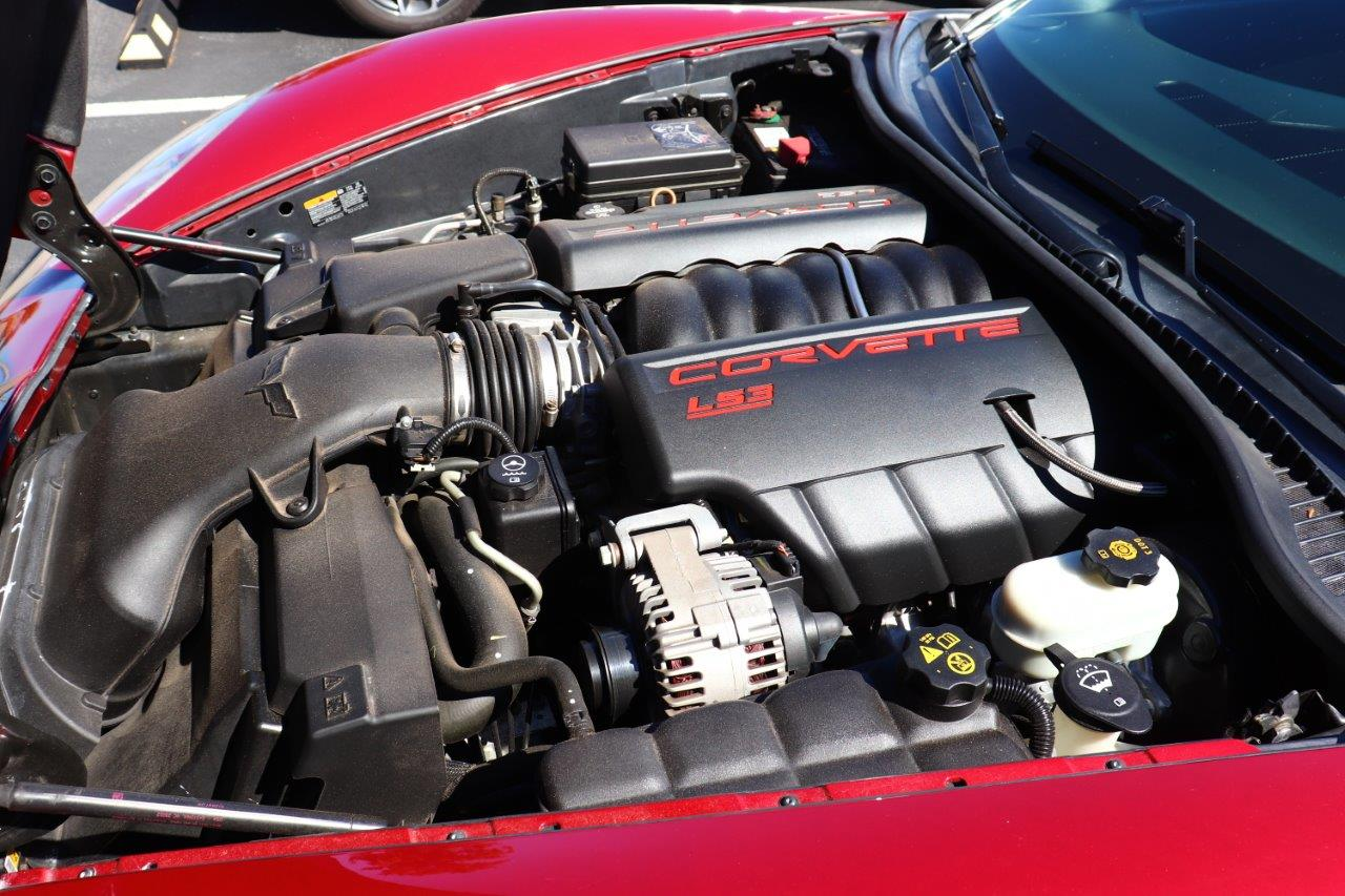 C6 Corvette sporting the mod friendly LS3 engine