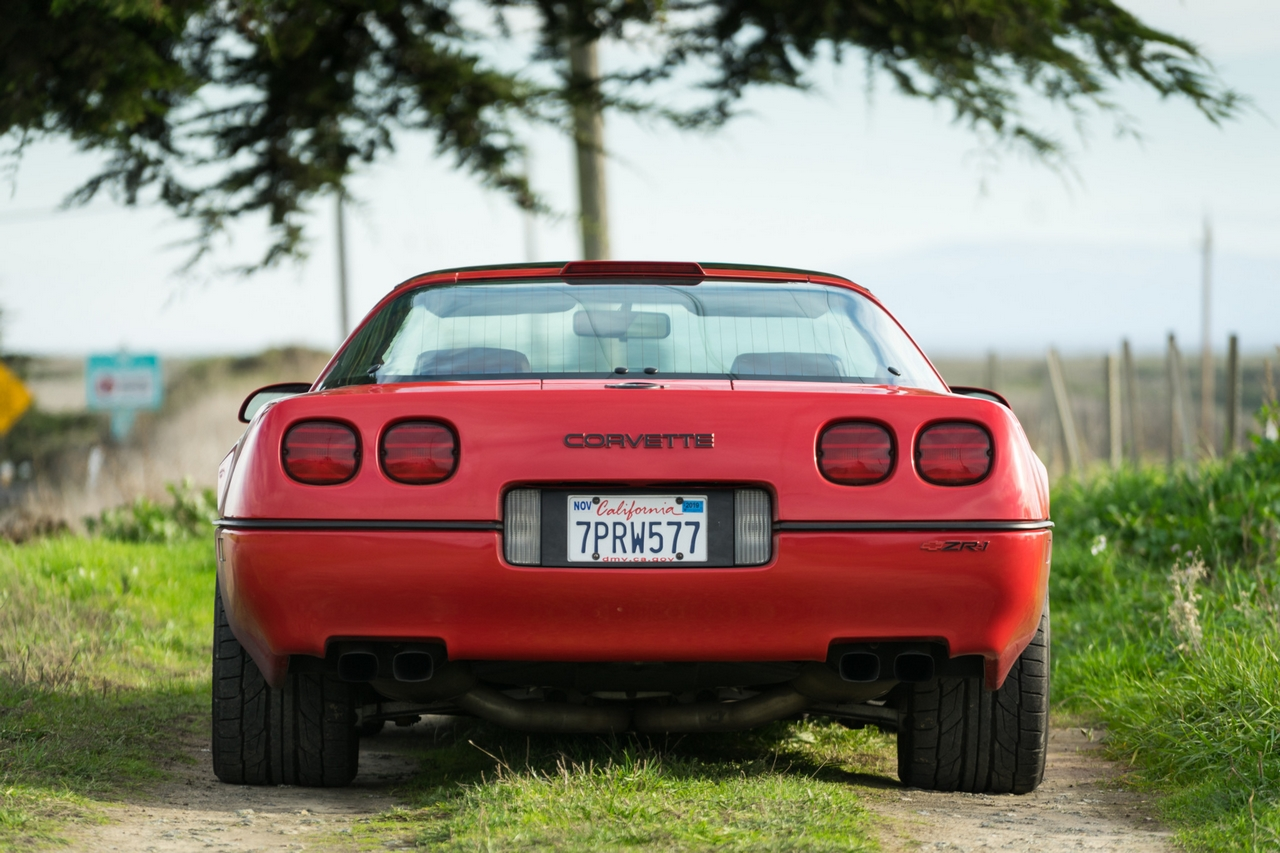 Low-mileage 1990 Corvette ZR-1 for sale at bringatrailer.com