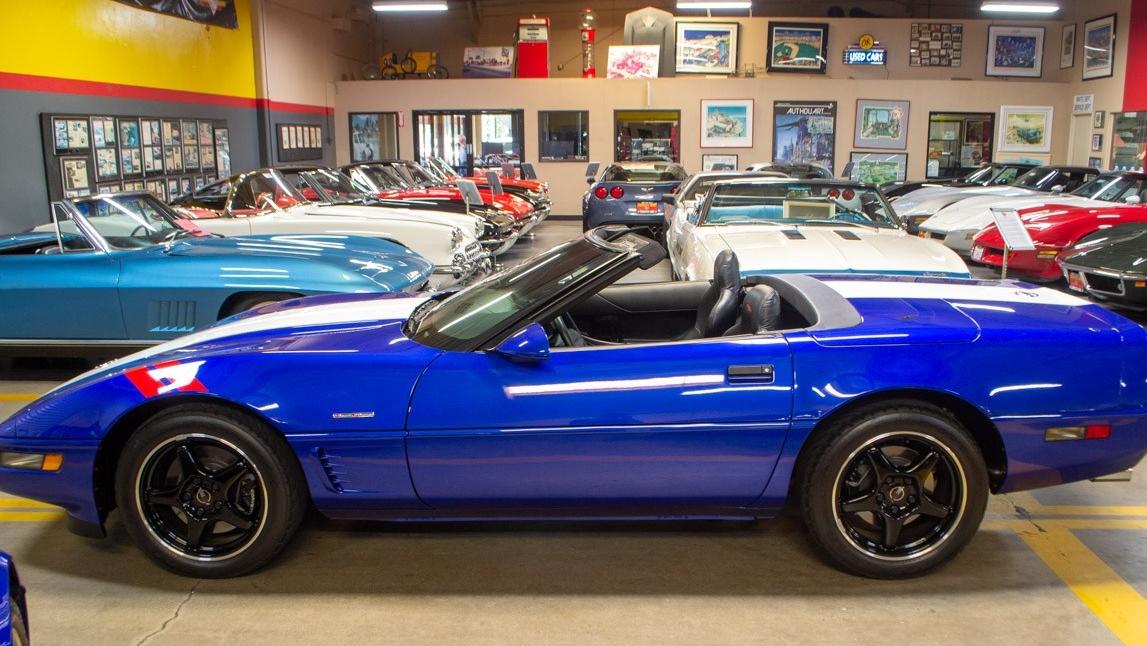 FOR SALE: A 1996 Grand Sport Corvette Convertible