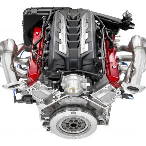 2020 Corvette Stingray's 6.2L Small Block V-8 LT2 engine