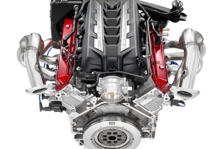 2020 Corvette Stingray's 6.2L Small Block V-8 LT2 engine