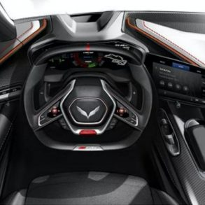 Corvette C8 Z06 official interior rendering