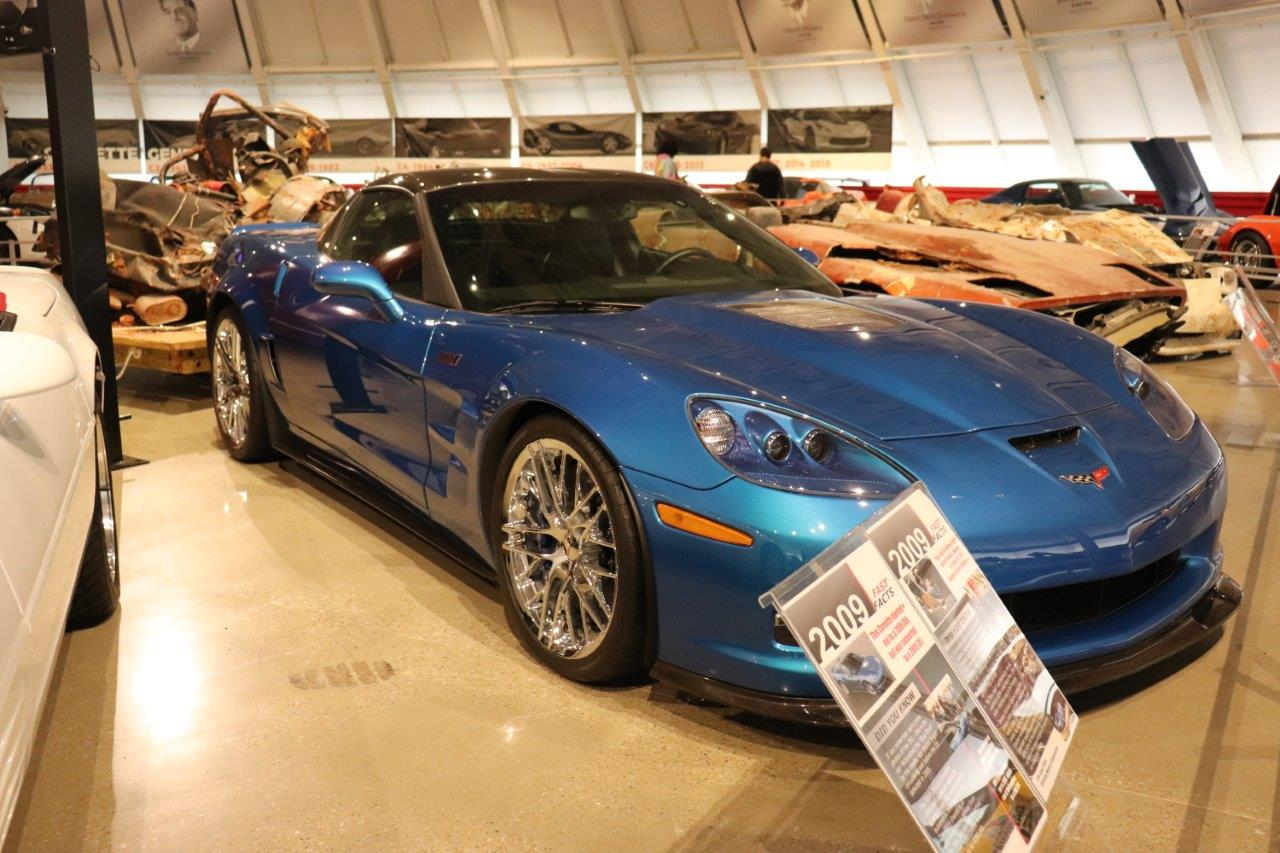 Blue Devil Corvette