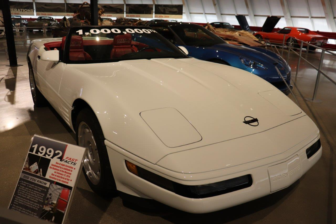 One Millionth Corvette