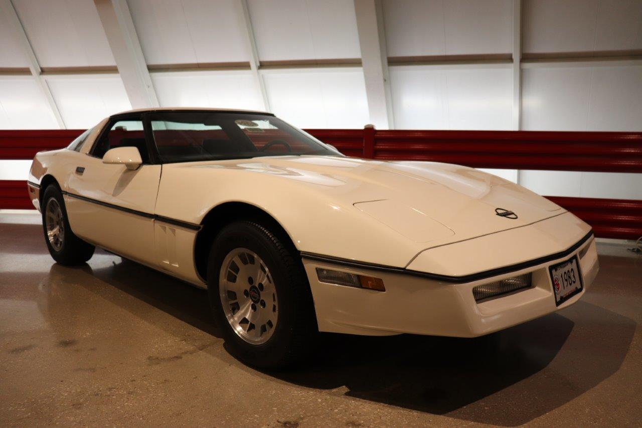 1983 Corvette on display at the National Corvette Musuem