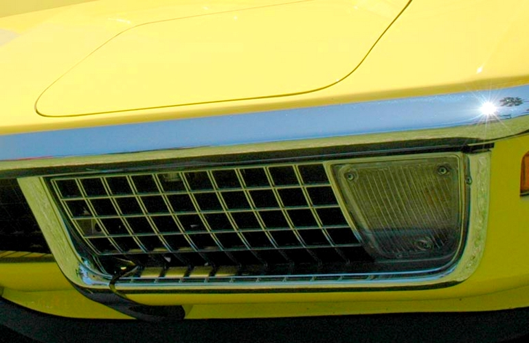 C3 Buyers Guide - Front Grille on 1970 Corvette.
