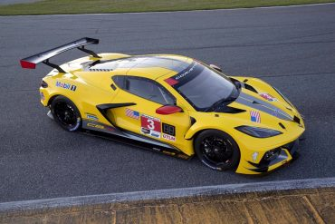The No.3 Corvette Racing C8.R will wear the traditional livery colors of the Corvette Racing program.