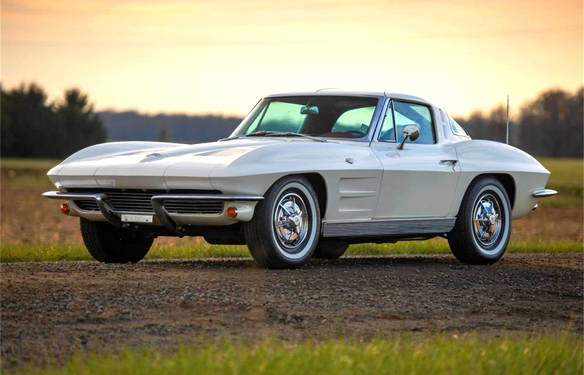 The 1963 Corvette Split-Window Coupe is a fan-favorite and definitely one of the Greatest Corvettes Of All Time!
