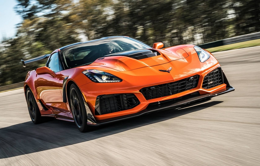 The 2019 Corvette ZR1