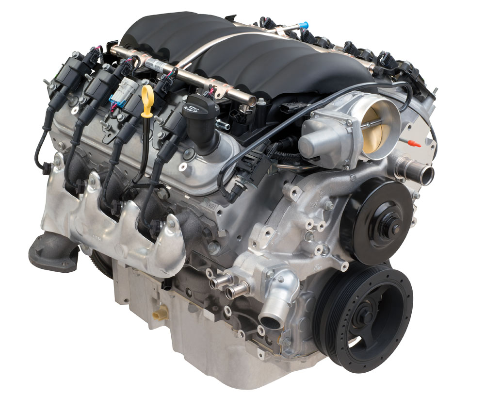 LS376 Crate Engine