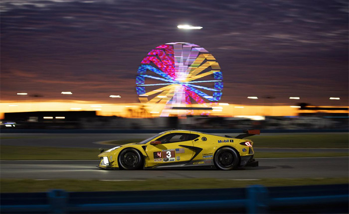 The No. 3 Corvette ran around the clock, completing more laps than any other race Corvette that came before it.