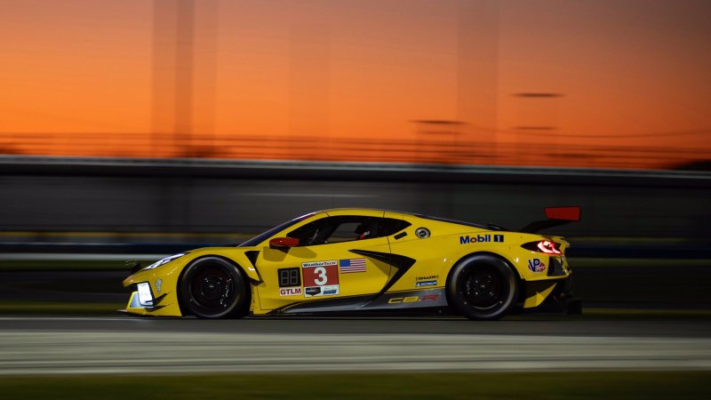 The No. 3 C8.R of Corvette Racing will make its debut this weekend at the 24 Hours of Daytona!