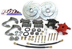 1963-64 Chevy Corvette, Front Disc Brake Conversion Kit
