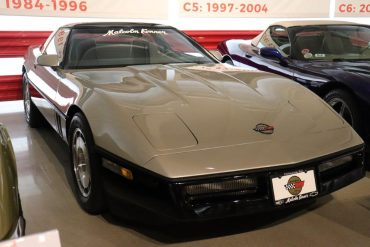 C4 Corvette located at the National Corvette Musuem