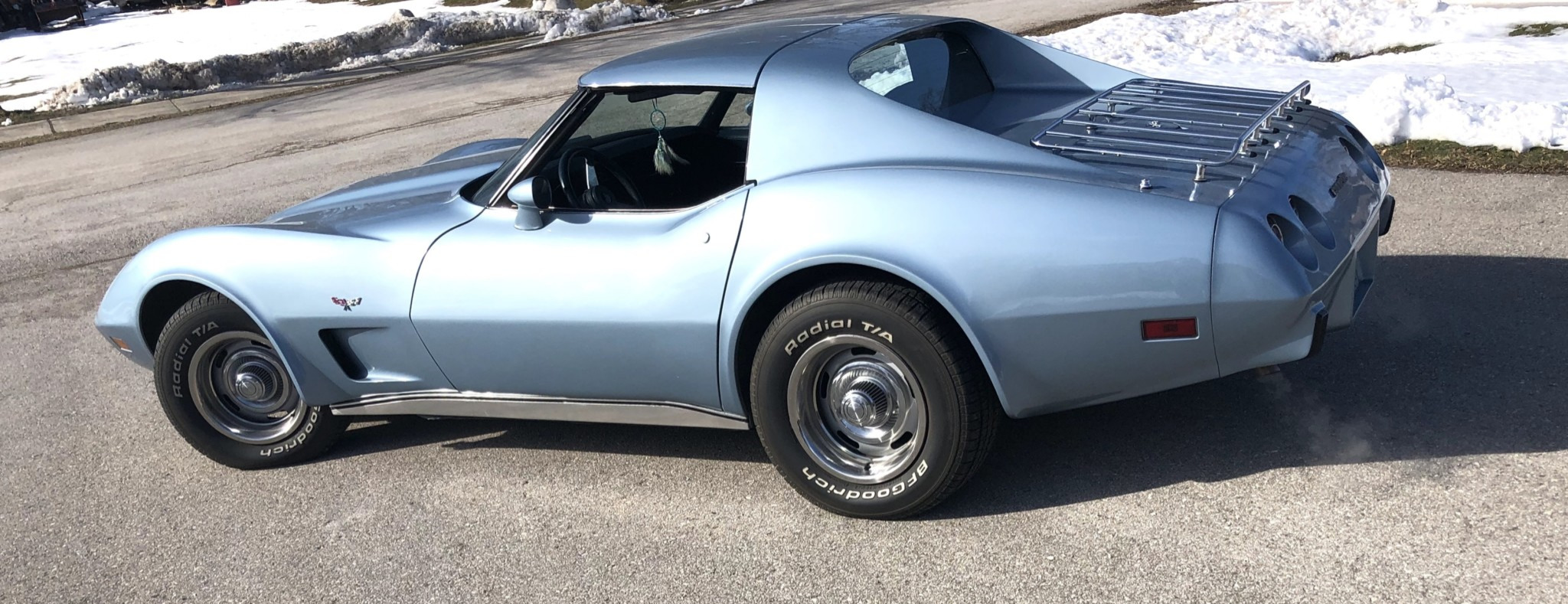 This 1977 Corvette is available for sale at bringatrailer.com