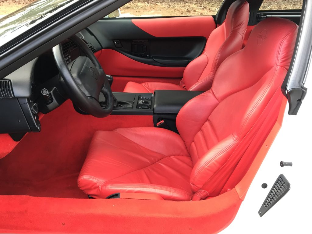 1995 Corvette C4 ZR1 interior