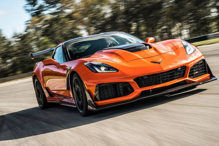 The 2019 ZR1 Corvette