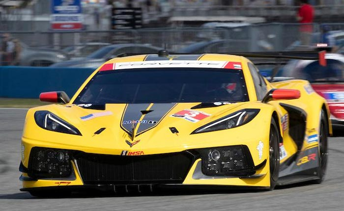 The 2020 C8.R Corvette Race Car