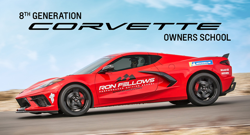 Ron Fellows Corvette School official photo