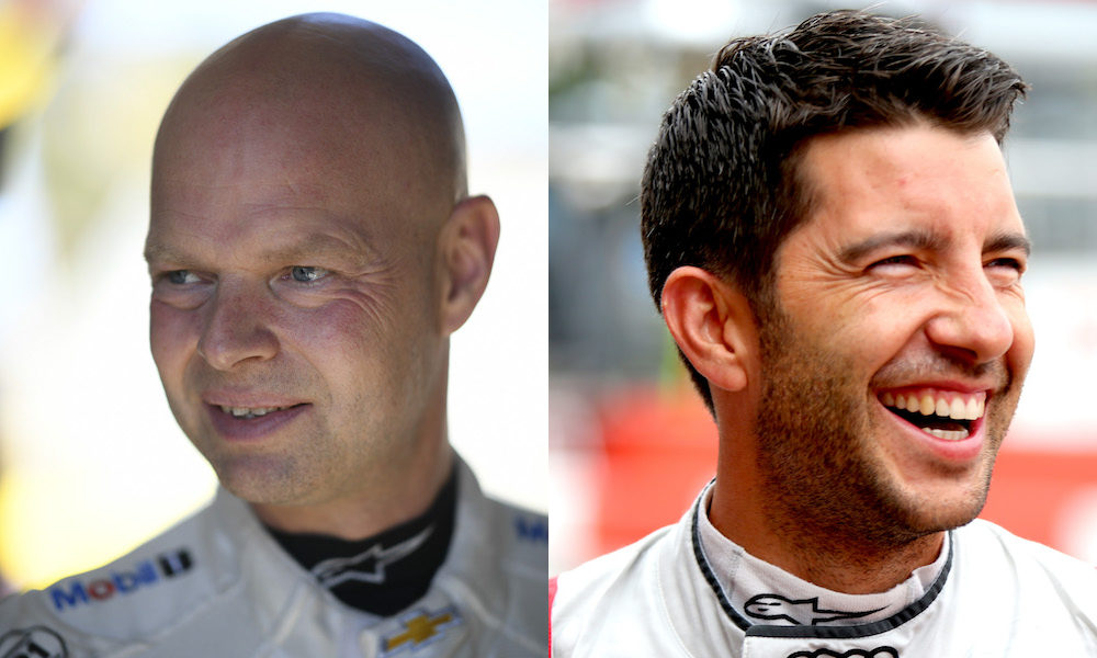 Jan Magnussen (left) and Mike Rockenfeller (right) will pilot the C8.R Corvette at the Circuit of the Americas this weekend.