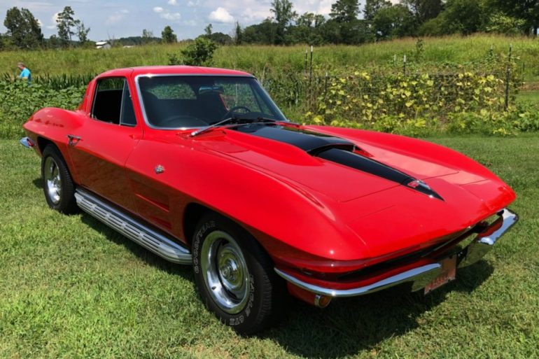 Beautiful 1964 Corvette For Sale at Bringatrailer.com.