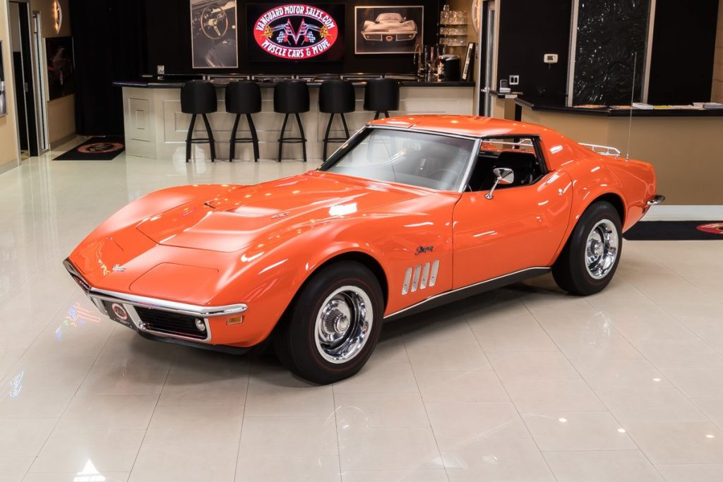 FOR SALE: A Beautifully Restored 1969 Corvette Stingray Coupe.