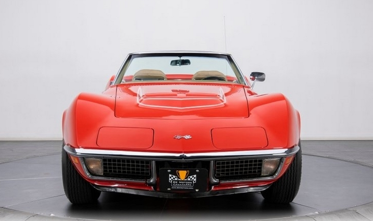 For Sale: A beautiful 1970 LT-1 Corvette Convertible.