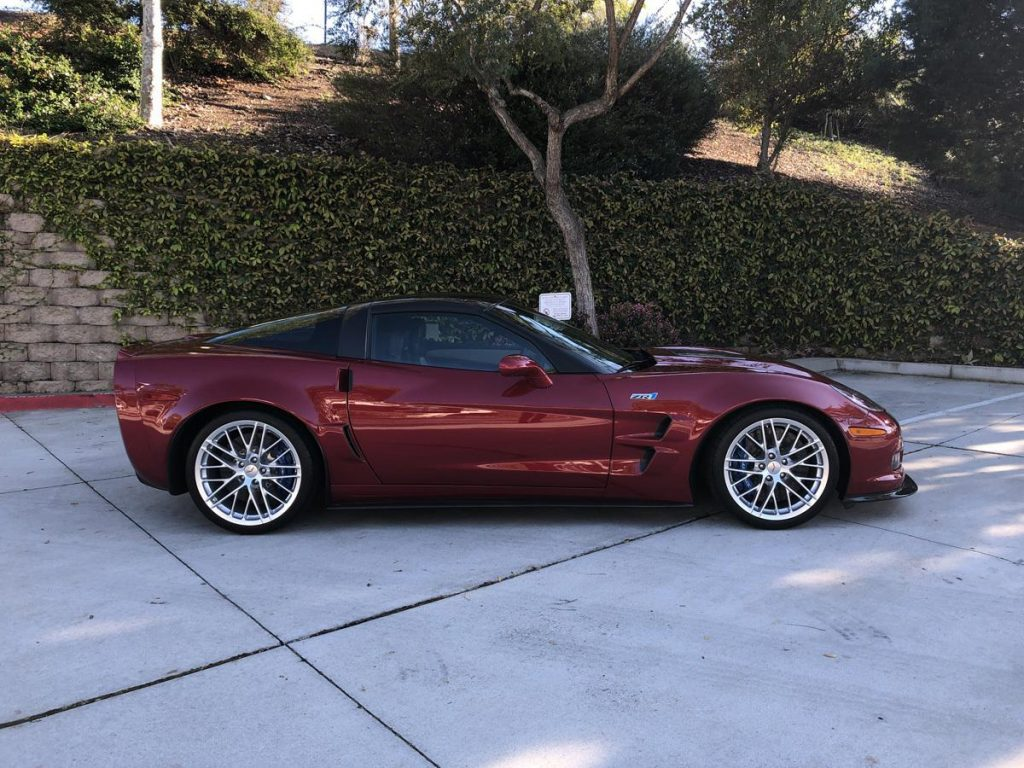 2011 Corvette ZR-1 Coupe.