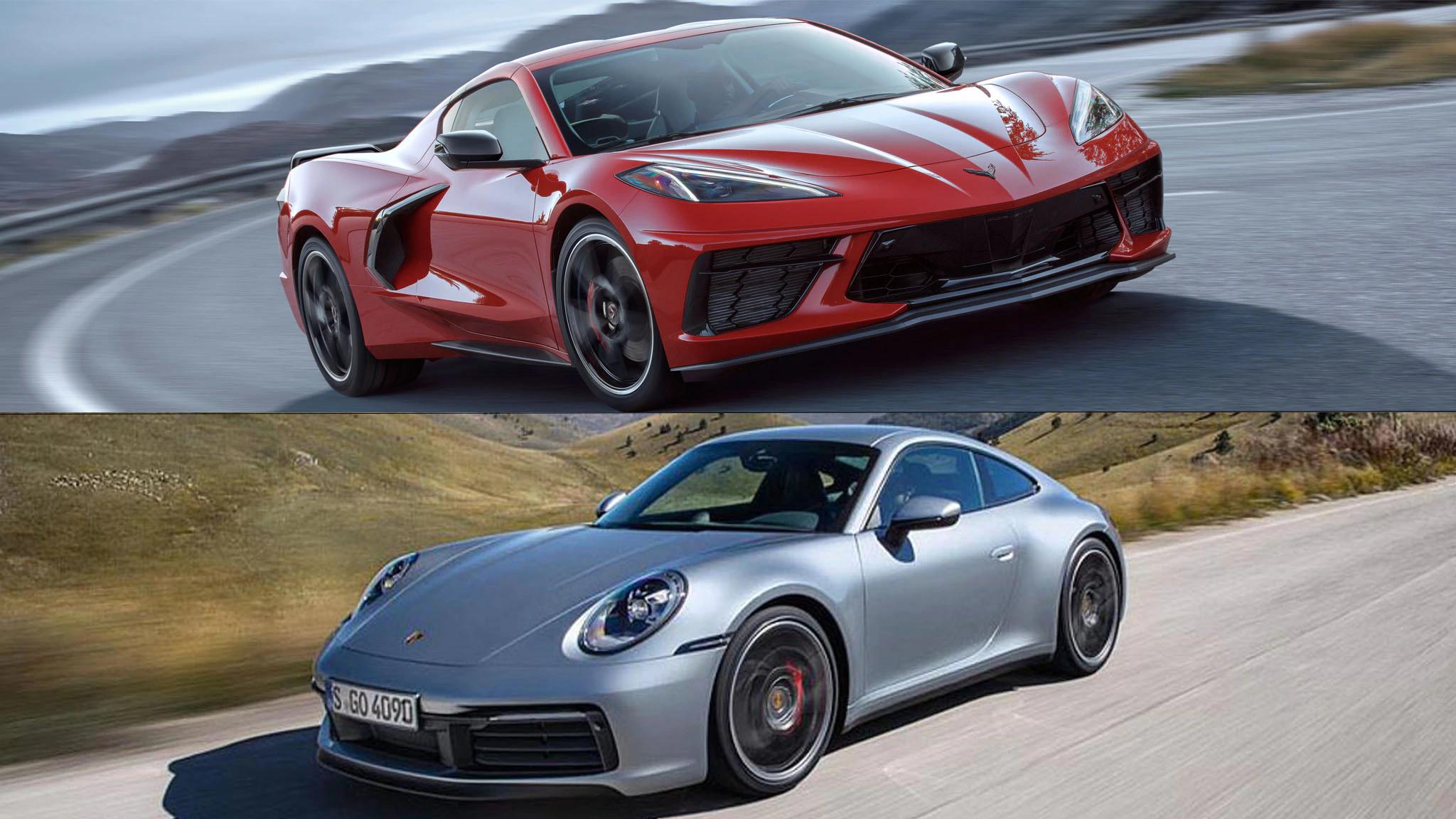 Corvette C8 vs Porsche 911
