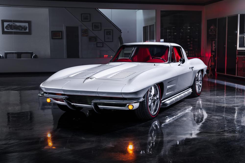 Jeff Hayes 1963 Corvette Split-Window Coupe Restomod!