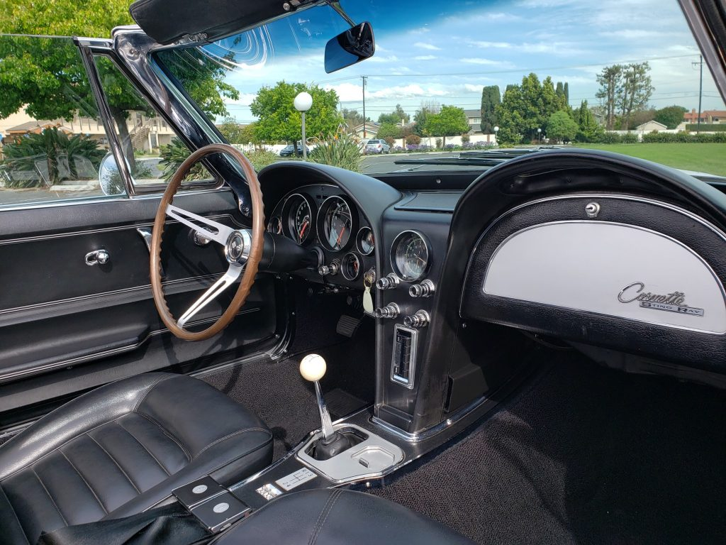 1966 Corvette Convertible Interior