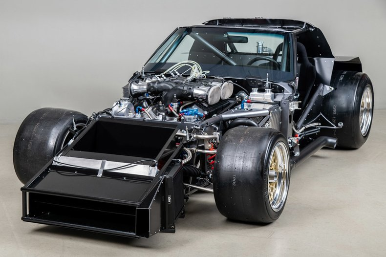 Tubular chassis of the 1977 Greenwood SuperVette COV002