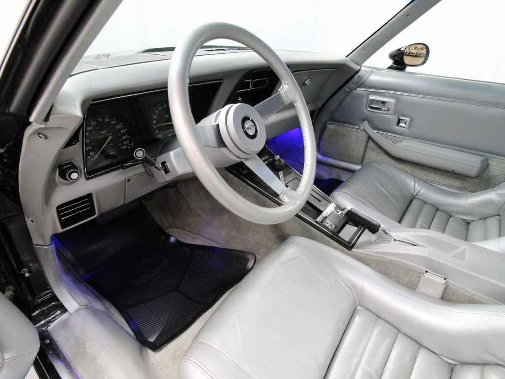 Interior of the C3 Indy Pace Car Corvette