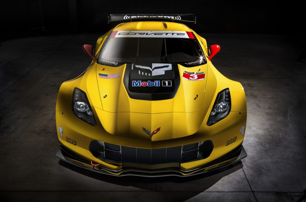 Jake became an integral part of the hood design on the C7.R Race Car.
