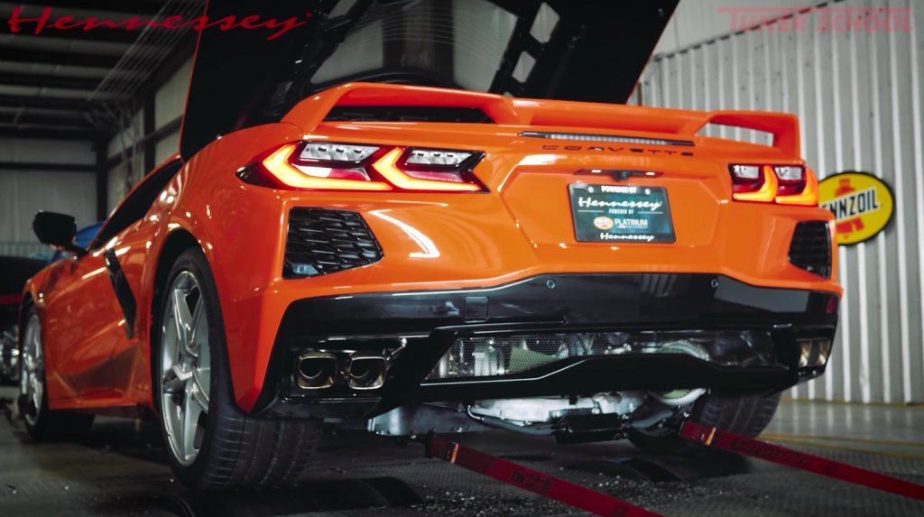 Hennessey Twin Turbo Corvette C8